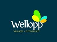Wellopp Logo Design R6