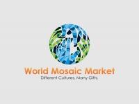 World Mosaic Market Logo Design_Comp 2